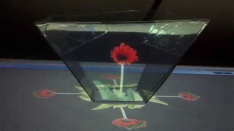 hologram projector  laptop youtube