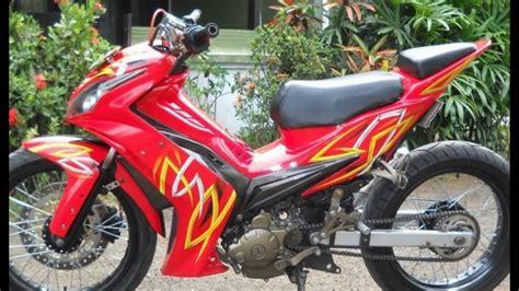Modif Jupiter Mx Merah Hitam by 100 Gambar Motor Mx 2008 Merah Marun Keren Abis Terlengkap
