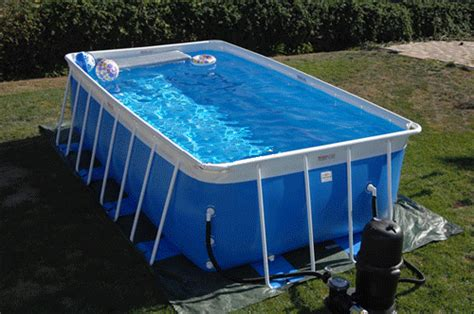 Portable Pool Installation And Information