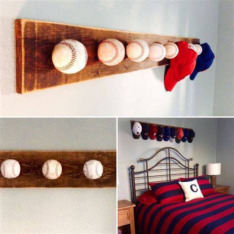 baseball hat rack 13 hat rack ideas easy and simple for sweet home