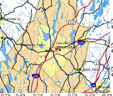 offenders in maine map lewiston maine me 04240 profile population maps real