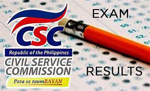 Civil Service Exam Results October 2014