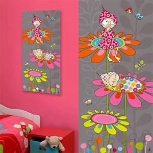 Tableau Chambre Fille : deco chambre fille tableau ~ Teatrodelosmanantiales.com Idées de Décoration