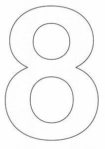 Coloring Pages of Number 8 | Coloring Pages