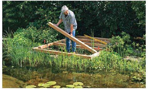 Steg Bauen Teich by Teich Steg Bauen Selbst De