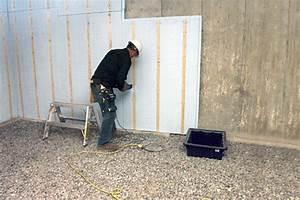 Isoler Sous Sol : comment isoler mon sous sol simplement voir vert le portail du b timent durable au qu bec ~ Melissatoandfro.com Idées de Décoration