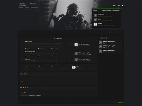 Vând Temă Ipb Green Gaming