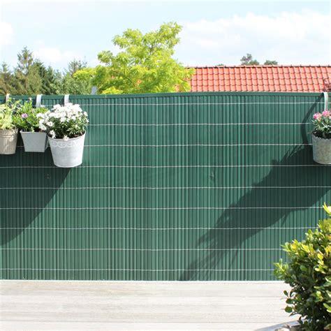 Sichtschutzmatte Pvc Kunststoff, Rügen Grün Sichtschutz