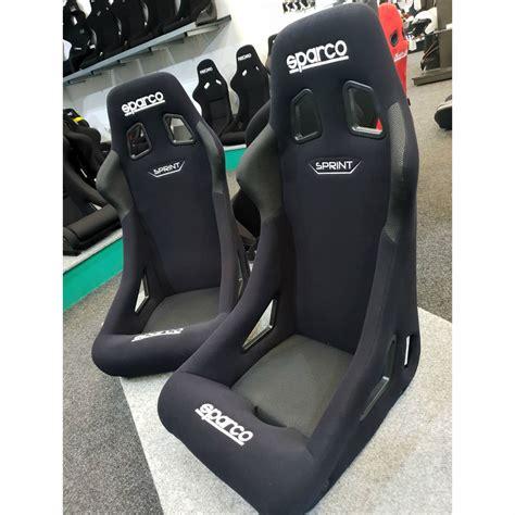 sparco sprint fia motorsport bucket seat gsm sport seats