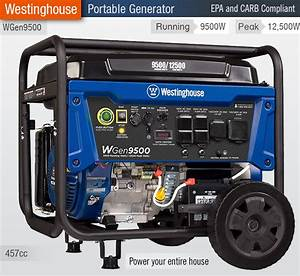 2019 Reviews Best 9500 Watt Generators  U2014 Westinghouse Wgen9500