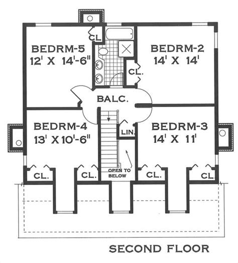 southern house plan   bedrooms   baths plan