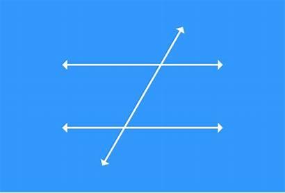 Angles Parallel Lines Exterior Alternate Transversal Corresponding