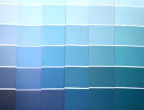 jessicas different types of blues - Farbpalette Blau
