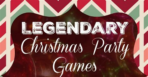 christmas party games for large groups