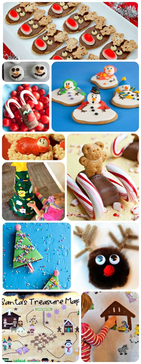 christmas treats and crafts for kids
