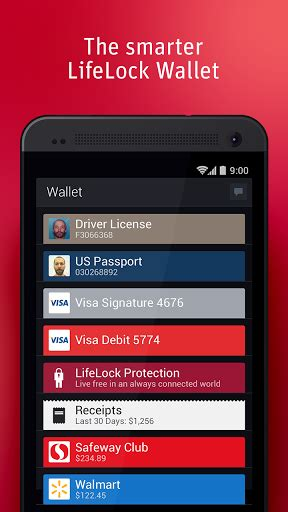turn  android   wallet  lifelock  images