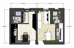 Lovely Twin 20sqm Apartments with a Clever Design ...