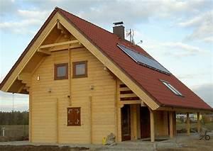 Kleines Holzhaus Bauen : holzh user holzhaus blockhaus schwedenhaus kleines fertighaus mit satteldach ~ Sanjose-hotels-ca.com Haus und Dekorationen