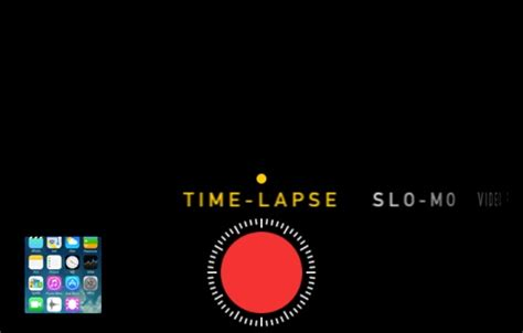 iphone time lapse ios 8 features features