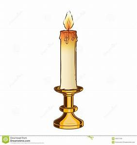 Burning Candle Clipart (72+)