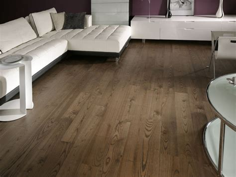 Ash Mocca  Brushed And Oiled Ash Flooring Contemporary