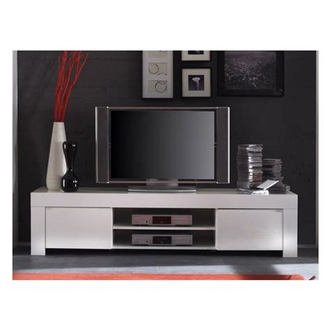 meuble tv blanc laqu 233 design