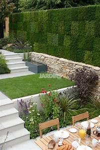les 25 meilleures idees de la categorie mur en gabion sur With amenagement exterieur terrain en pente 18 mur gabion dans le jardin moderne un joli element fonctionnel