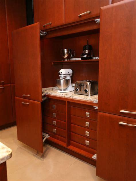 hidden kitchen appliances houzz