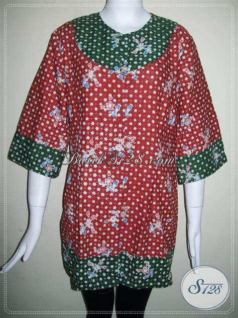 baju batik wanita ukuran xxl jumbo besar big size blsc