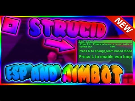 roblox strucid alpha aimbotaimlock op  youtube
