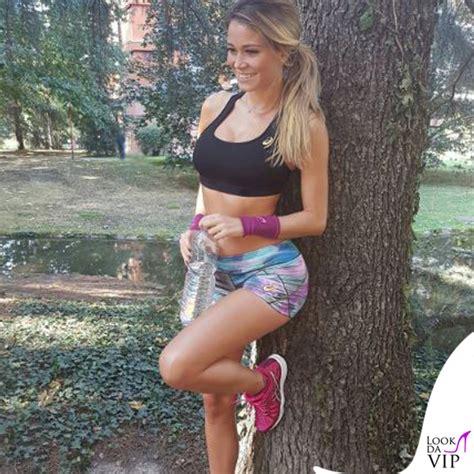 Diletta Leotta S Vestita Asics Per La Corsa Lookdavip