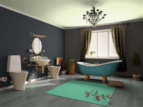ideas for painting a bathroom blue and grey bathroom