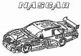 Coloring Race Nascar Printable Coloringpagebook Advertisement sketch template
