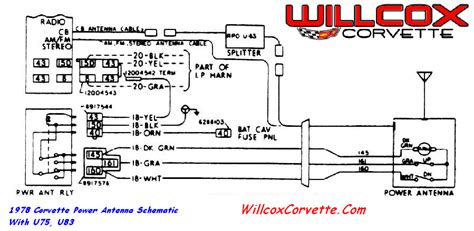 Which Wire For Power Antenna Corvetteforum
