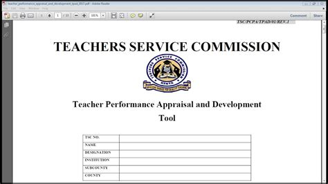 how to complete performance appraisal form how to complete the teacher performance and appraisal tpad