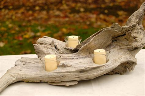 driftwood candle holder diy driftwood candle holder plus a giveaway winner