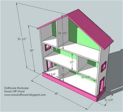 images dollhouse plans to build white dollhouse bookcase diy projects