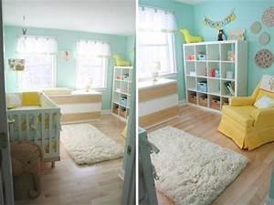 chambre denfant jaune et bleu a voir With chambre d enfant bleu