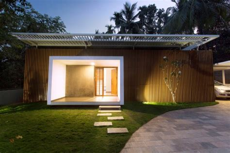 Design Small Home by Minimal House Design In Kerala Zero Studio The