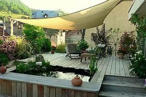 Decoration Terrasse Exterieur : terrasse deco decoration sapin exterieur djunails ~ Teatrodelosmanantiales.com Idées de Décoration