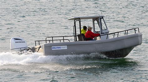 Offshore Dive Boats by Bullfrog Boats Offshore Ranger 22