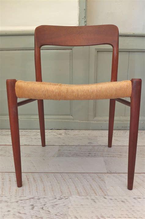 chaise danoise slavia vintage mobilier vintage chaise danoise type