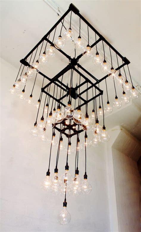 industrial light chandelier best 25 industrial chandelier ideas on