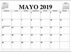 CALENDARIO MAYO 2019 EL CALENDARIO MAYO 2019 PARA