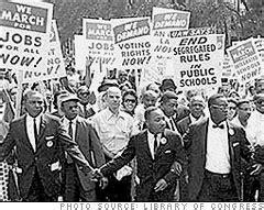 civil rights march  washington history facts martin