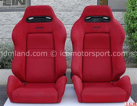 sieges recaro used honda ek9 civic type r recaro seats sold