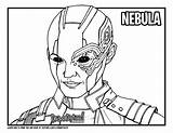 Coloring Nebula Colouring Template sketch template