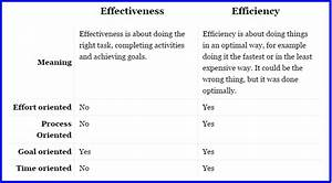 What Is Productivity  Effectiveness  Efficiency And The Differences Between Them