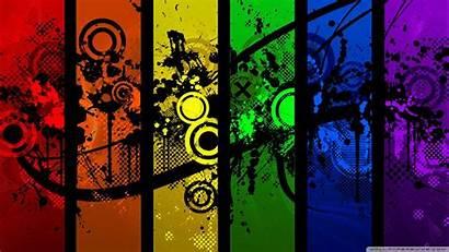 Graphic Wallpapers 4k Desktop Designs Colorful