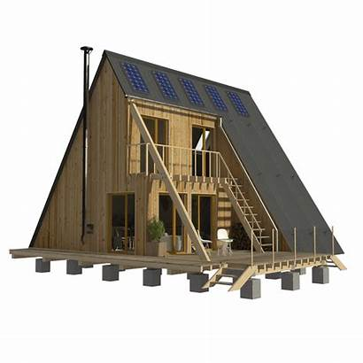 Plans Frame Story Roof Flat